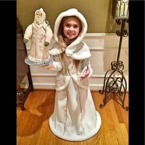 Other - Girls winter dress and hood costume size 4-6